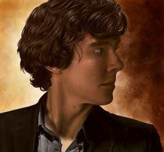 Sherlock by AmandaTolleson.deviantart.com on @deviantART