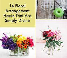 14 Floral Arrangement Hacks That Are Simply Divine