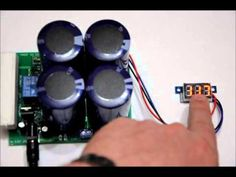 The portable super capacitor battery bank with voltage boost options! Ra...
