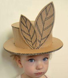 Veja como reciclar papelão e transforma-lo em um divertido chapéu de papelão. A ideia do chapéu de papelão foi apresentada por um maravilhoso arquiteto russ