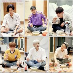 "5 Likes, 1 Comments - B.A.P & BABYz (@sandaees) on Instagram: ""B.A.P enjoying the 'Stamina Food' (Ginseng Chicken Soup) offered by StarMakers through surpassing…"""