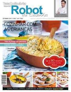 TeleCulinária Robot de Cozinha 80 Setembro 2014 Disponivel online www.magzter.com Visite-nos www.teleculinaria.pt