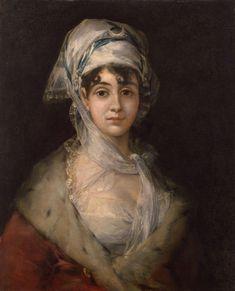 Goya - Portrait of the Actress Antonia Zarate