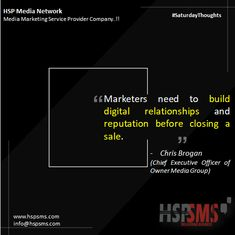 Consumers need to trust you. Trust comes from relationships and how your brand has treated others. Without this trust, it's nearly impossible to make meaningful conversions.  HSP Media Network (Media Marketing Service Provider Company)  #saturdayvibes #saturdaythoughts #marketingthoughts #thoughtsoftheDay #marketing #saturday #saturdaymotivational #bulksms #smsmarketing #marketingquote #hspsms #hspmedianetwork #marketers #digital #relationship #digitalrelationship #reputation #sale #consumer Marketing Quotes, Media Marketing, Trust Yourself, Relationships, Messages, Thoughts, Motivation, Digital, Text Posts