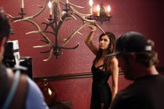 Enjoy this exclusive photo of Nina Dobrev! #TVD premieres Thursday, Oct. 3!