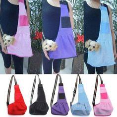 Small Pet Dog Cat Carrier Cloth Dog Carrier Single Shoulder Holder Bag Tote 1pcs