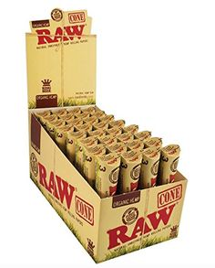 Price:    Raw ORGANIC Cones Pre-Rolled Rolling Papers 1.25 Size Rolling Cigarette Paper. Comes with Limited Edition Beamer Sticker. Raw Cone Pre-Rolled Rolling Papers are perfect for people who don't know how to hand-roll.They are the ultimate convenience in rolling because you only need...