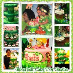 HONEY CAKES: Tinkerbell Birthday Cake For Shasha