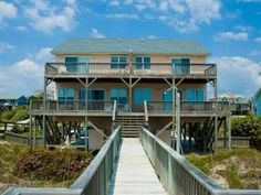 """The definition of the word vacation is a """"period of time that a person spends away from home, school, or business usually in order to relax or travel,"""" according to Merriam-Webster.  So we recommend you spend your next vacation traveling to Emerald Isle and relaxing at A Beautiful Thing East. Read more!"""