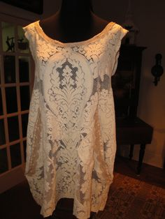 Luv Lucy Creamy Dreamy Lace Tunic