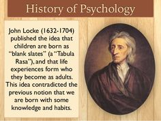 John Locke was an empiricist who refuted the rationalistic doctrine of innate ideas(no body is born with Knowledge but rather after exper. John Locke, Tabula Rasa, I Miss Her, Perception, Stand Up, In This World, Happy New Year, Philosophy, Psychology