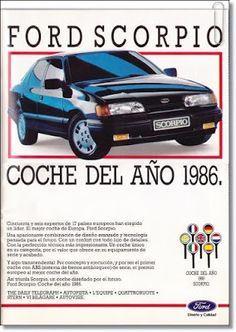 VintageAdvertising: España - Ford - Agosto 1986 #vintage #ads #advertising #publicidad #gráfica #retro