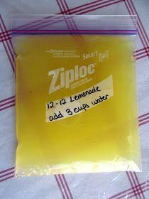 Think, Love, Sleep, Dine: How to Make Homemade Lemonade Concentrate