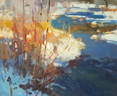 Red Willow, Blue River - Study