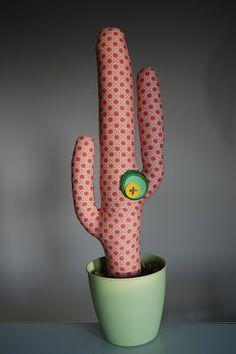 cactus, muñecos de trapo
