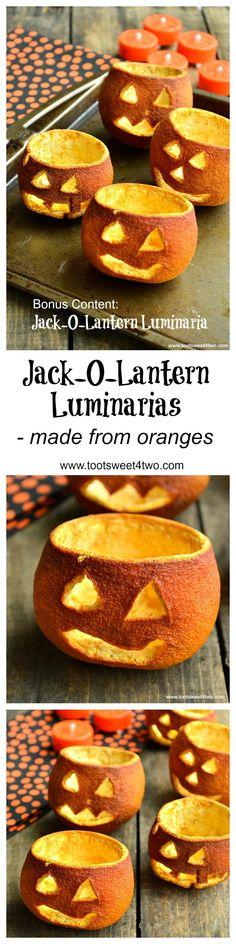 Easy Jack-O-Lantern