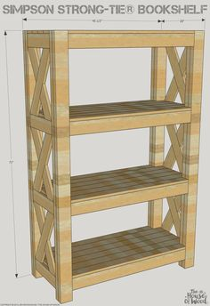 How To Build A Bookshelf with Simpson Strong-Tie
