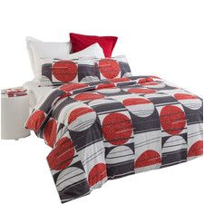 Shaded Moon Quilt Cover Set in Red/Grey Shuteye. Grab unbeatable discounts up to 70% Off at Wayfair using Coupon & Promo Codes.