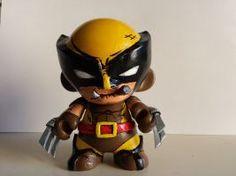 Wolverine Custom Kidrobot Munny by toxicfixx