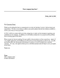 apology letter to customer for late delivery