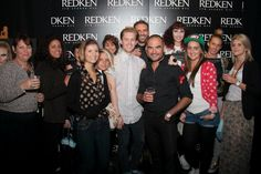 the strands team with Andrew Barton at Redken Connects London