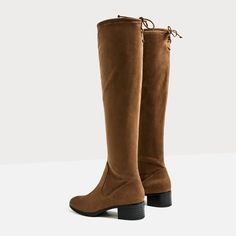 FLAT OVER-THE-KNEE BOOTS-NEW IN-WOMAN | ZARA United States