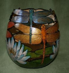 Gourd Art Ideas   Gourd Art by Christine Chan, featuring GourdMaster™ Ink ...   Craft ...