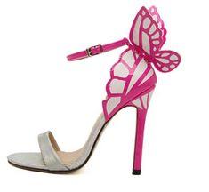 Butterfly Heel Sandals