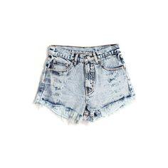 Rad Denim Shorts | Shop Shorts | Beginning Boutique | Online Boutique ($44) ❤ liked on Polyvore featuring shorts, bottoms, pants, short, pocket shorts, denim short shorts, frayed denim shorts, frayed jean shorts and denim shorts