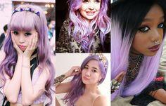 Image result for colourful hair for darker skin