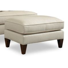 Sam Moore Arden Ottoman Finish: Espresso, Upholstery: 2159 Cranberry