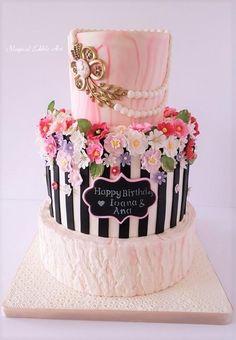 Birthday cake by Nadia