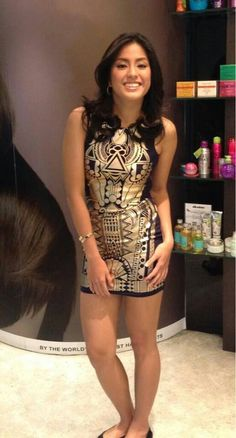 Gretchen Ho Filipino Girl, Filipina, Beautiful Women, Bodycon Dress, Formal Dresses, Volleyball, People, Meet, Fashion