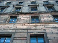 Berlin. Shots at wall.