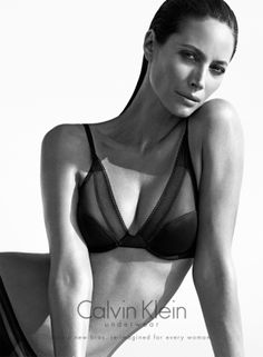 See Christy Turlington Star in Calvin Klein Underwear Fall 2013 Ads | Fashion Gone Rogue: The Latest in Editorials and Campaigns