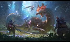 ArtStation - Fan art for Monster Hunter X, Keyi Li