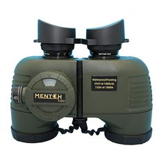 Buy Mentch HD Waterproof Military Marine Binoculars w/Internal Rangefinder & Compass for Water Sports,Hunting,Bird Watching,Boating and More(Army Green) … Floating In Water, Crisp Image, Bird Watching, Water Sports, Army Green, Boating, Military, Free, Color