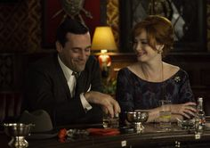 """Mad Men: """"My mother raised me to be admired."""" Joan, you are wonderful. Really."""