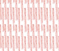 Coral Nomad Print fabric by clothpapercloth on Spoonflower - custom fabric