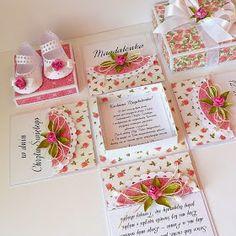 ...czyli papiery, które w jednym pudełku są na wierzchu w drugim znalazły się wewnątrz. Baby Crafts, Diy And Crafts, Exploding Box Card, 3d Paper Crafts, Magic Box, Baby Shower Cards, Baby Kind, Diy Box, Card Tags