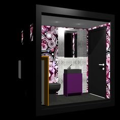 fashion mobile structure produced by fashion block, rented by fashion toilet  www.fashiontoilet.it