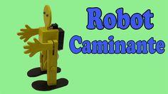 Cómo Hacer un Robot Caminante en Dos Patas (Muy fácil de hacer)
