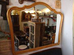 Espelho Antigo Chipandalle Anos 50 - R$ 300,00 no MercadoLivre