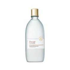 Dear By Enprani Moistful Booskin.  A toner rich in hyaluronic acid and green collagen provides supple moisture for your skin.  Apply it using your fingertips, it feels rich and luxurious.