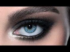Black Smoky Eyes: IMATS Makeup Tutorial (NYC 2012)