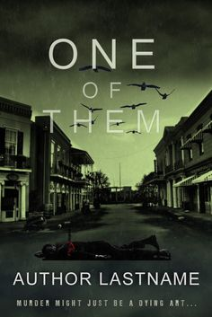 ONE OF THEM - suspense Murder Mystery - premade eBook cover.jpg (Obraz JPEG…