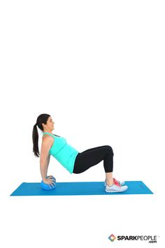 Today's Exercise: Triceps Dips on Medicine Ball