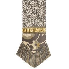 Espresso Table Runner with Braid and Brush Fringe by Jennifer Taylor. $180.00. 2568-655656654 Features: -Cover material: 100pct Polyester.-With braid and brush fringe.-Traditional style.-Classic style and luxurious comfort.
