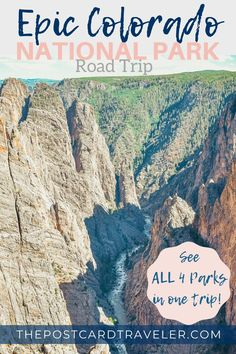 Follow this epic Colorado National Park road trip guide to experience each of Colorado's four national parks and see the best Colorado has to offer.