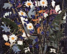 The Athenaeum - Canadian Wildflowers (Tom Thomson - ) Canadian Painters, Canadian Artists, A4 Poster, Poster Prints, Ontario, Tom Thomson Paintings, Jackson, Canadian Things, Modern Artists